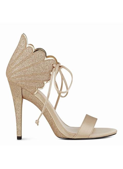 Nine West Topuklu Ayakkabı Altın